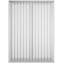 Java White Vertical Blind