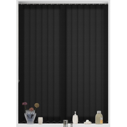 Perola Nero Vertical Blind