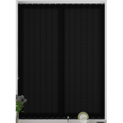 Nera Jet Vertical Blind