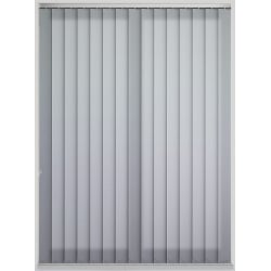 Unicolour Ash Vertical Blind