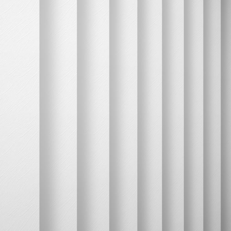 Opus White Vertical Blind