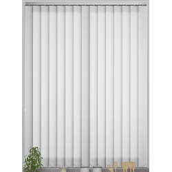Opus White Vertical Blind