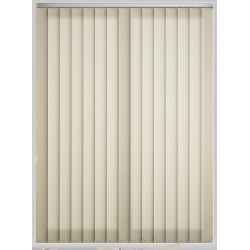 Unicolour Cream Vertical Blind