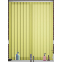 Unicolour Lime Vertical Blind