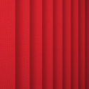 Unicolour Red Vertical Blind