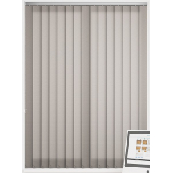 Unicolour Taupe Vertical Blind