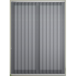 Unicolour Charcoal Vertical Blind