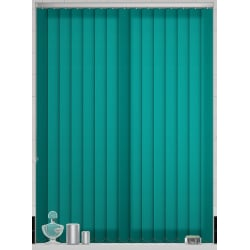 Unicolour Emerald Vertical Blind