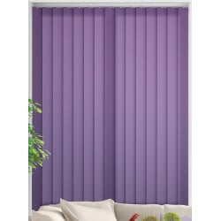 Unicolour Purple Vertical Blind