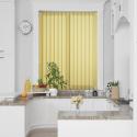 Unicolour Yellow Vertical Blind