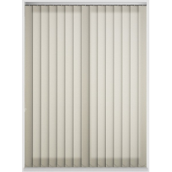 Unicolour Beige Vertical Blind
