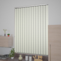 Lapwing Blackout Cream Vertical Blind