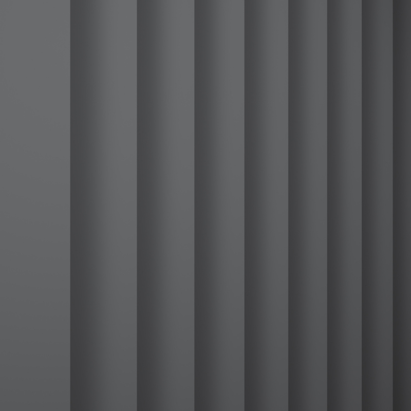 Bermuda Blackout Dark Grey Replacement Slats Replacement