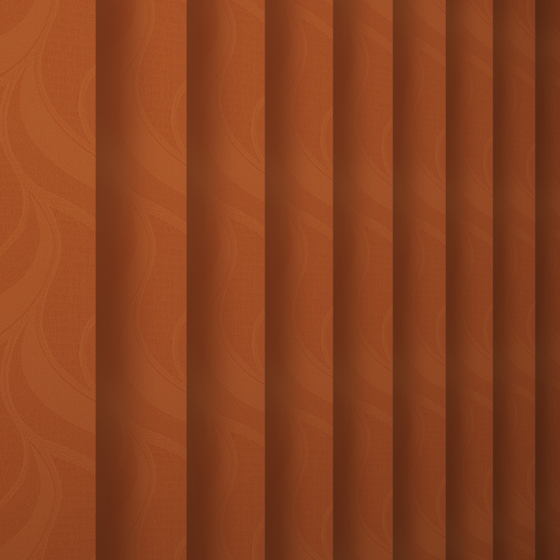 Jacamar Terracotta Replacement Slats Blinds By Post