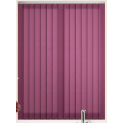 Atlantex Aubergine Vertical Blind