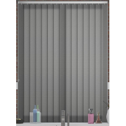 Atlantex Grey Vertical Blind