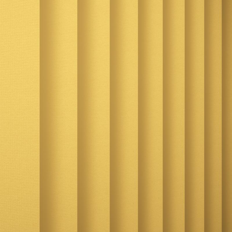 Certex Yellow Vertical Blind