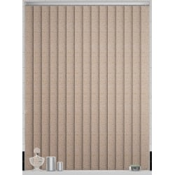 Willow Asc Nutmeg Vertical Blind