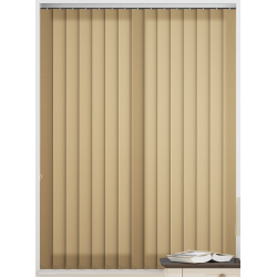 Palette Muted Gold Vertical Blind