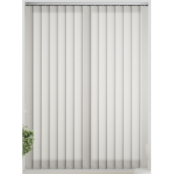 Mineral Asc Ivory Vertical Blind