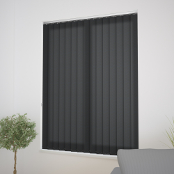 Flow Black Vertical Blind