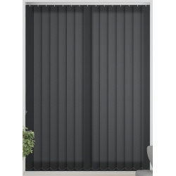 Flow Black Vertical Blind