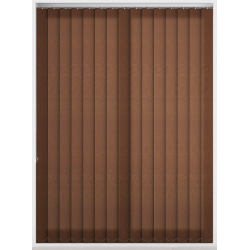 Chancery Chocolate Vertical Blind