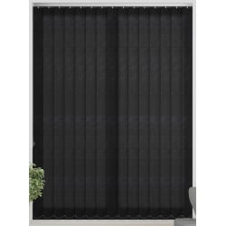 Chancery Black Vertical Blind