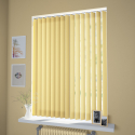 Certex Yellow Vertical Blind