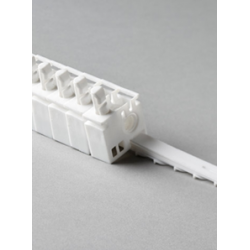 10 x 3.5 RHS Carrier Trucks (White Plastic)