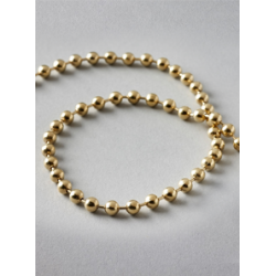 1.25m Brass Metal Chain For Roman Blinds