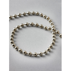 1.25m Silver Metal Chain For Roman Blinds