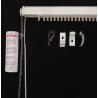 89mm White Vertical Blind Head Rail