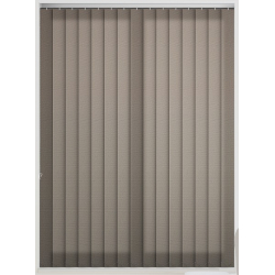 Unicolour Chocolate Vertical Blind