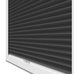 Luna Blackout Charcoal Black Perfect Fit Blinds