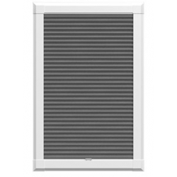 Luna Blackout Graphite Grey Perfect Fit Blinds