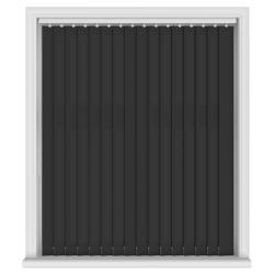 Splash Noir Vertical Blind