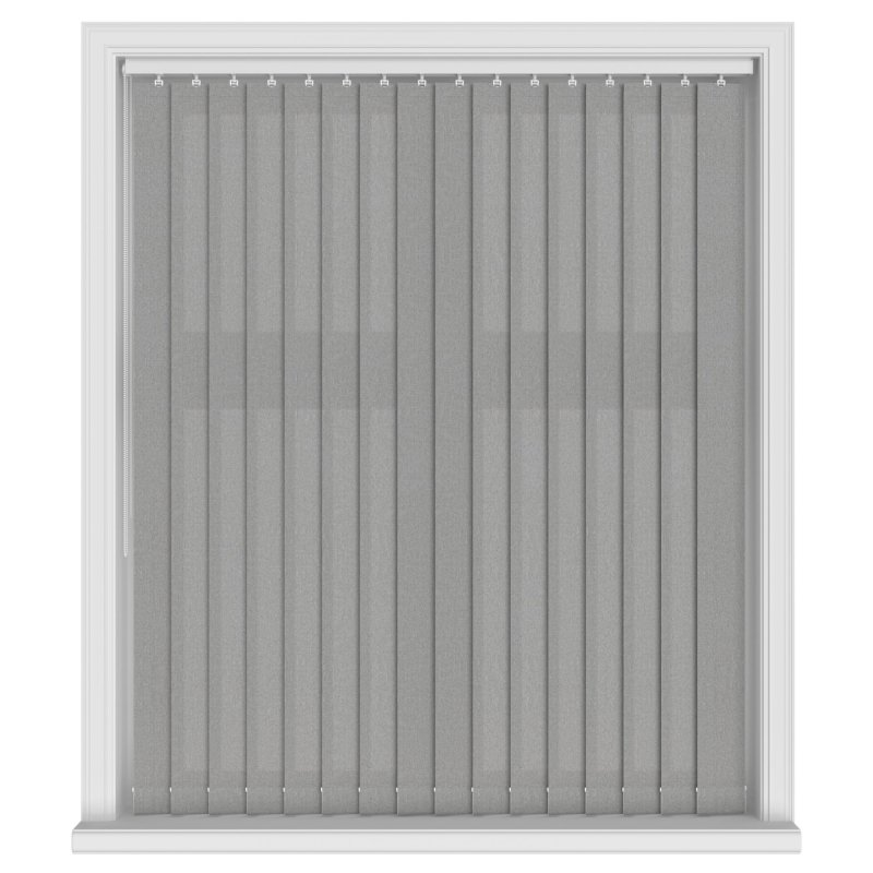 Henlow Graphite Vertical Blind