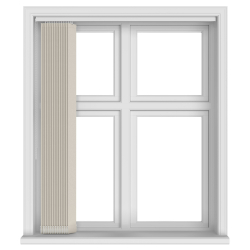 Kobe Cream Vertical Blind