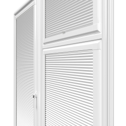 Hive Plain White Perfect Fit Pleated Blind