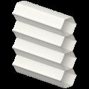 Hive Plain White Perfect Fit