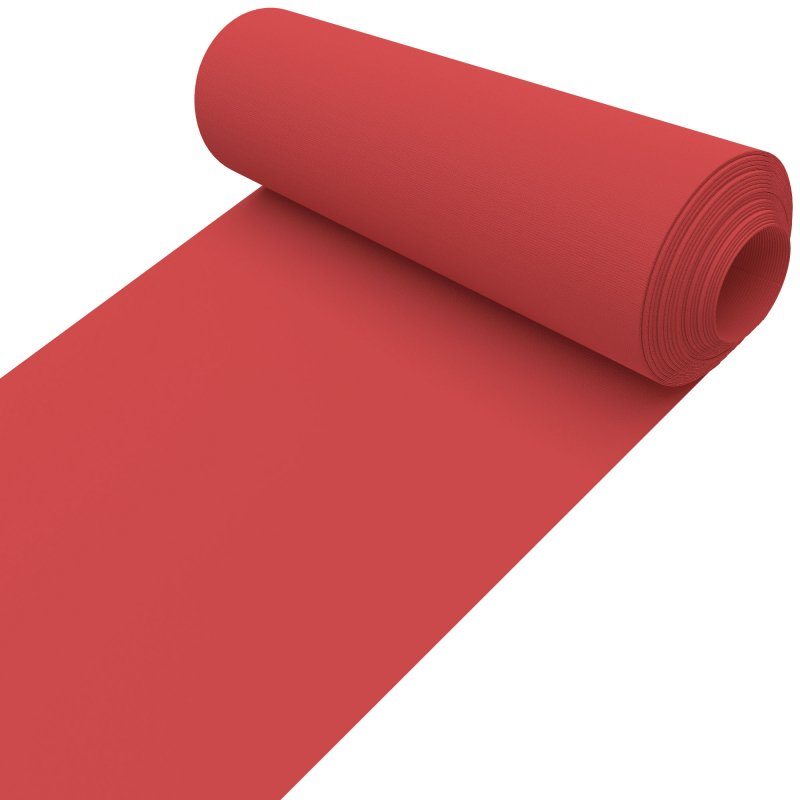 Unicolour Red 127mm Replacement Slats