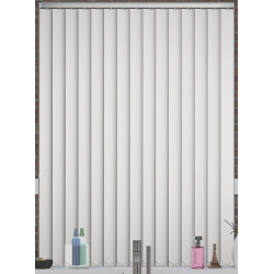 Albany White Vertical Blind