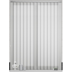Amaris White Vertical Blind