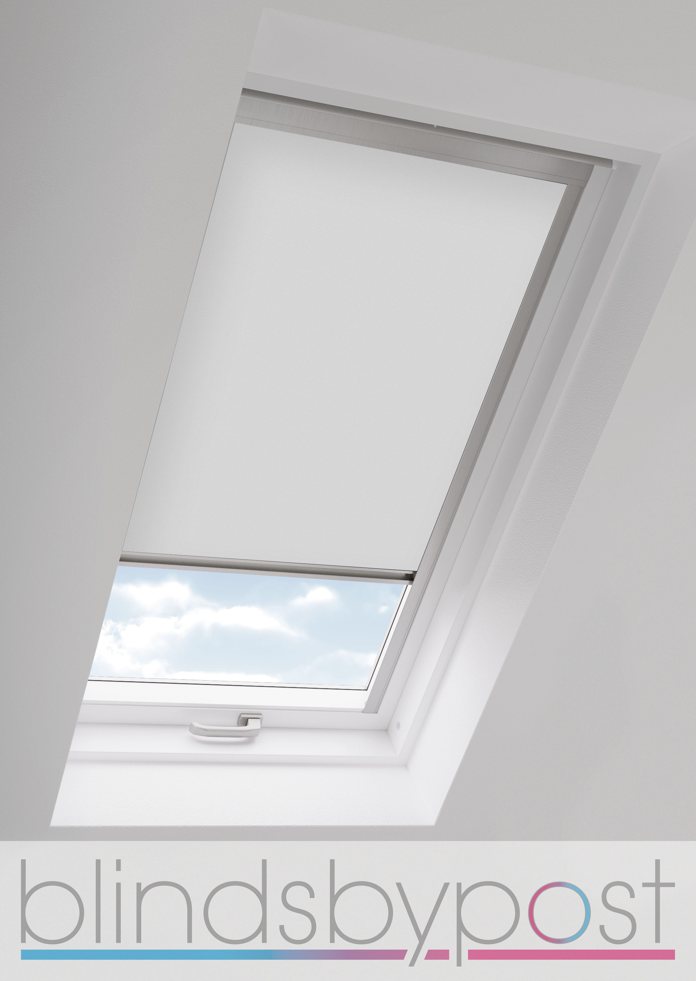 blackout skylight roller blinds for all velux roof windows easy fit child safe ebay. Black Bedroom Furniture Sets. Home Design Ideas