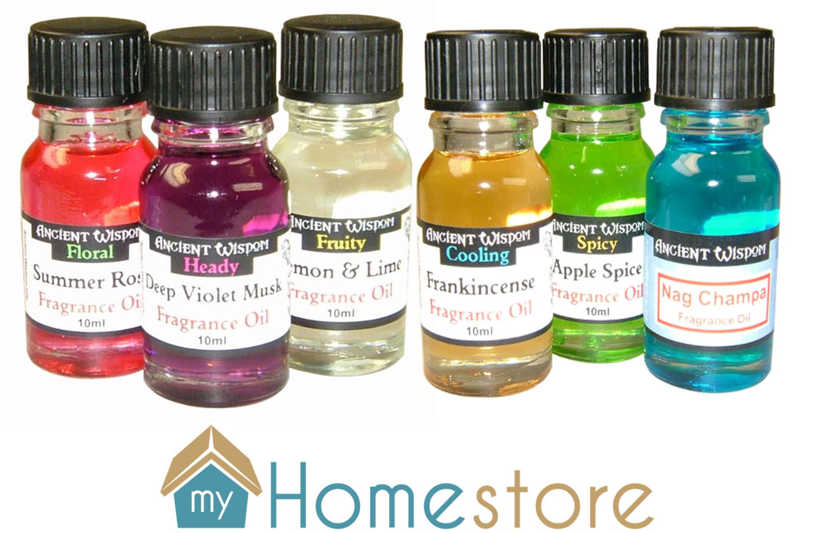 10ml home scented fragrance oils ancient wisdom for for Best scented oils for home