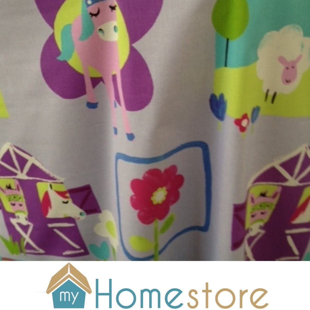Children 39 s fabric prestigious textiles pretty ponies for Horse fabric for kids