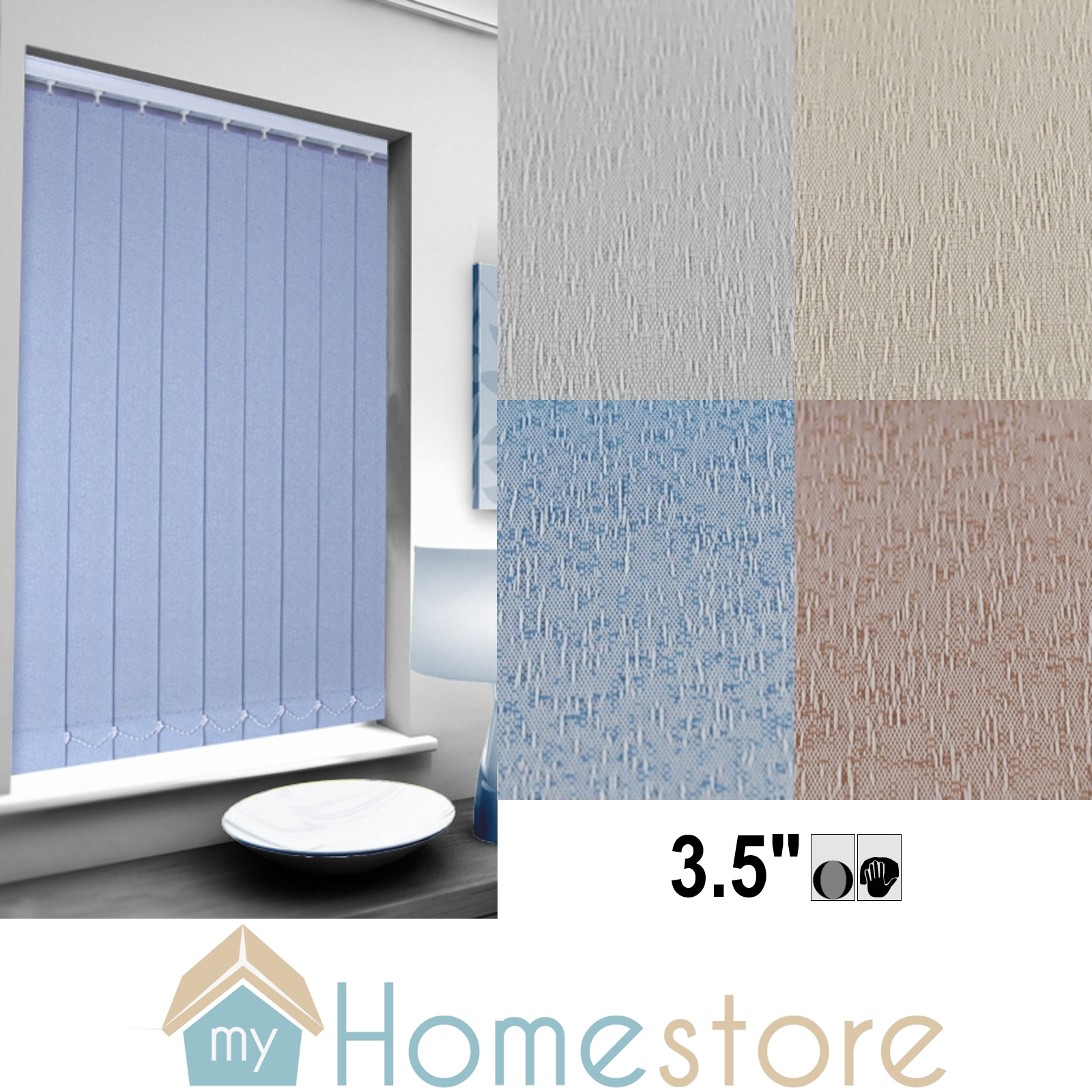 Listing For Our Latest Promotion On Vertical Blind Replacement Slats